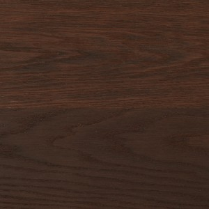 Oak cocoa brushed one strip decor